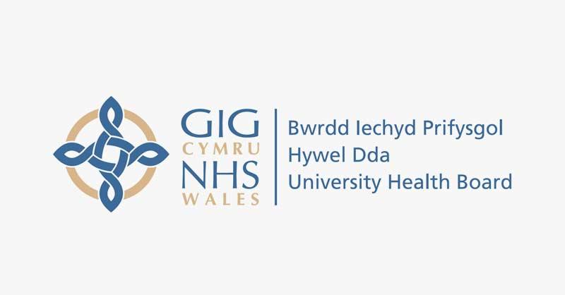 Hywel Dda University Health Board Logo