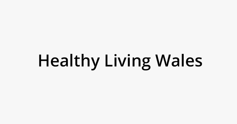 Healthy Living Wales logo